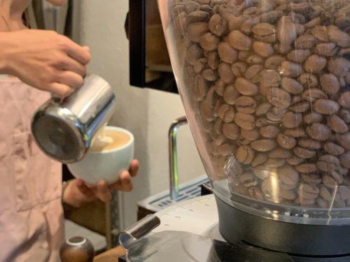 KAWA Kaffee mit Milchschaum