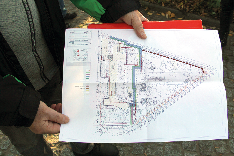 Plan Grundstücke Reinickendorfer Straße/Seestraße