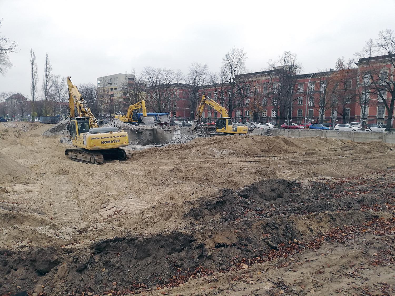 Baustelle Reinickendorfer Straße