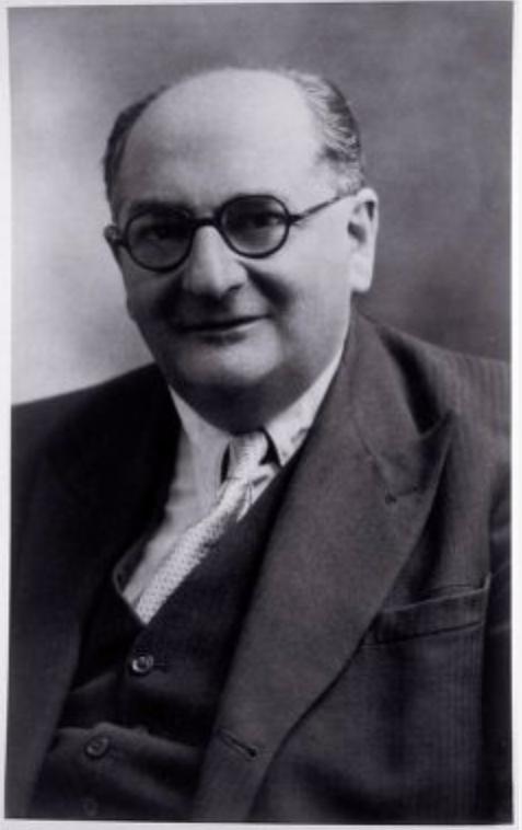 Portrait Bruno Woyda, vermutlich 1950er oder 60er Jahre, Fotograf unbekannt, Quelle: Center for Jewish History