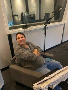 Oliver Tautorat bei der Aufnahme zum Prime Time Podcast