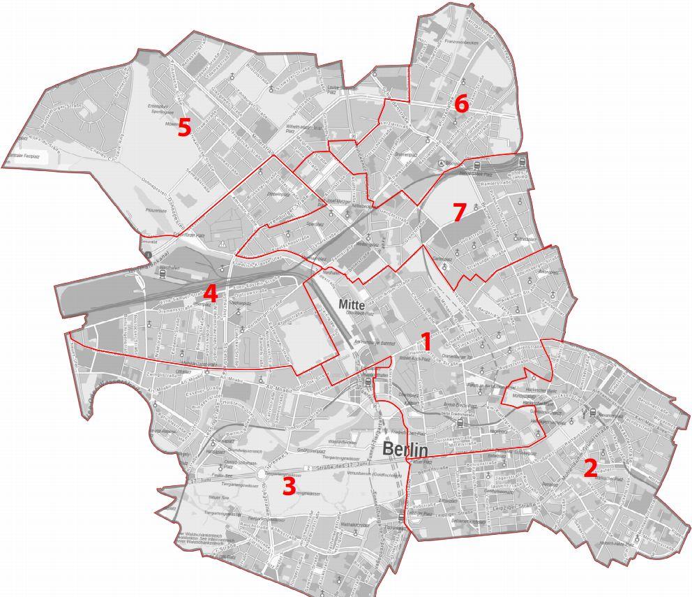 Wahlkreise Berlin