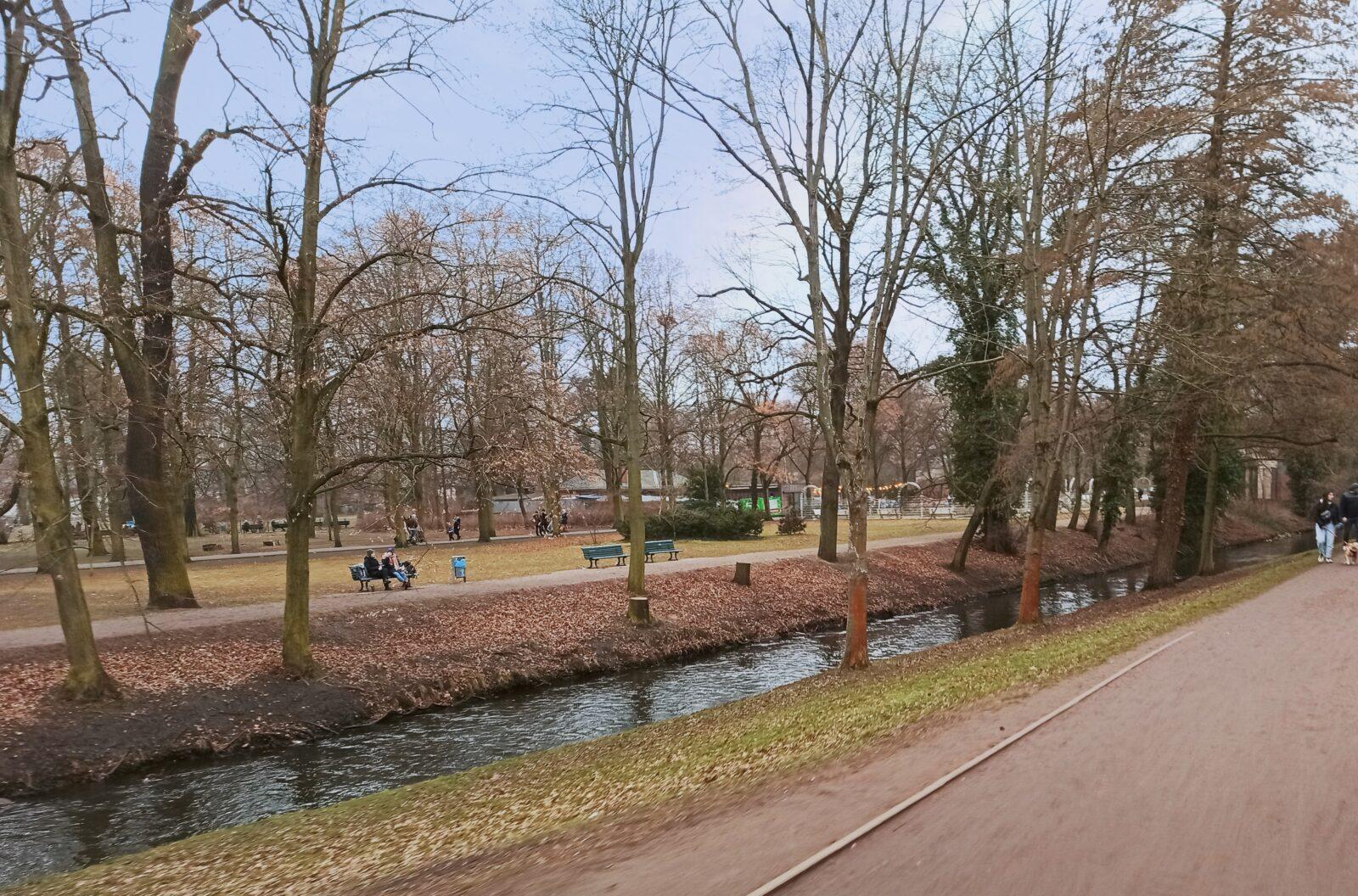Bürgerpark an der Panke