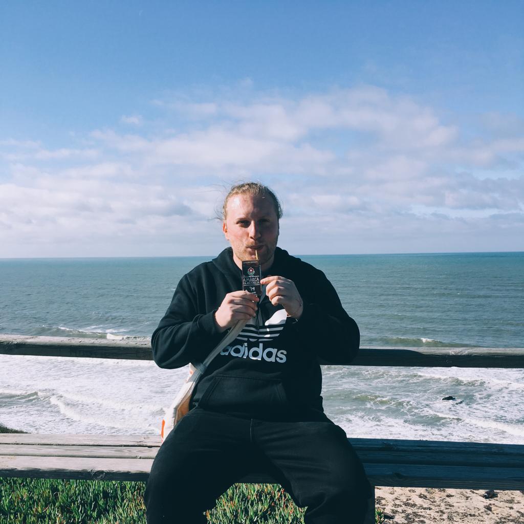 Martin Neise macht Urlaub. Foto: Privatbesitz