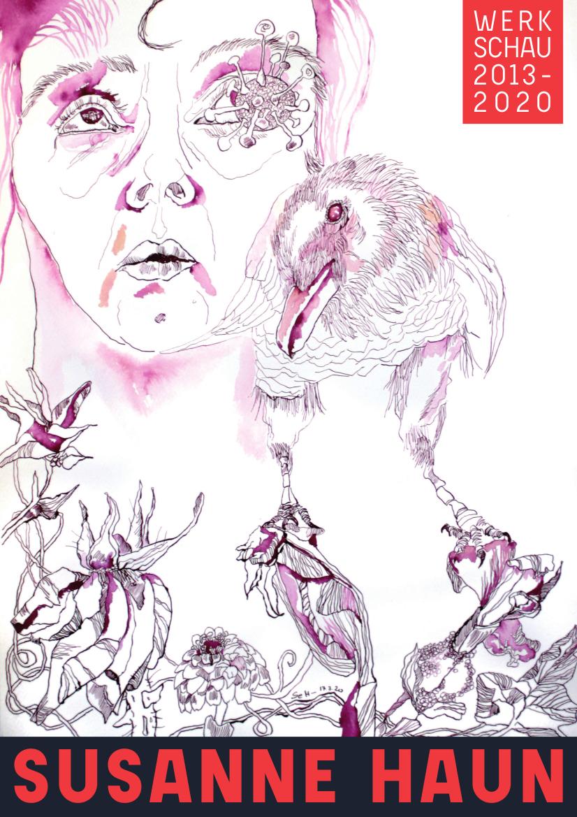 SusanneHaun_Werkschau-2013-2020_Cover