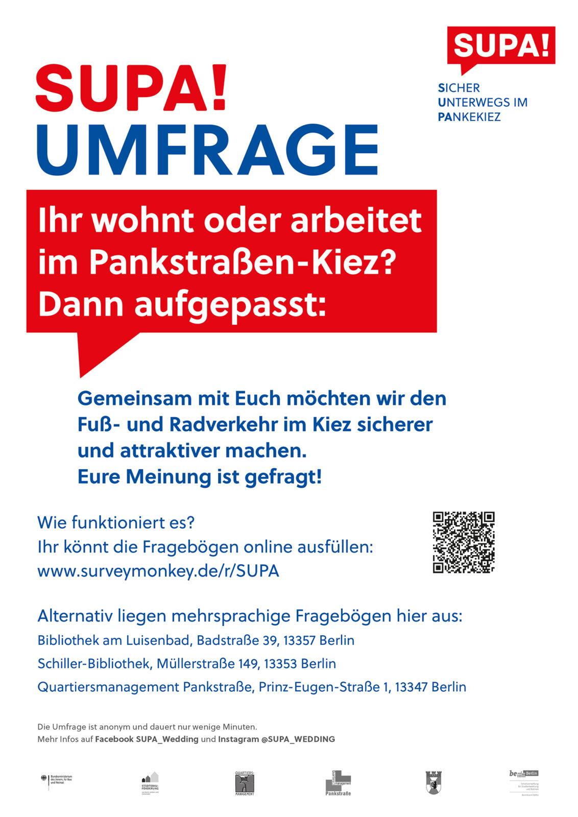Plakat zur Mobilitätsumfrage