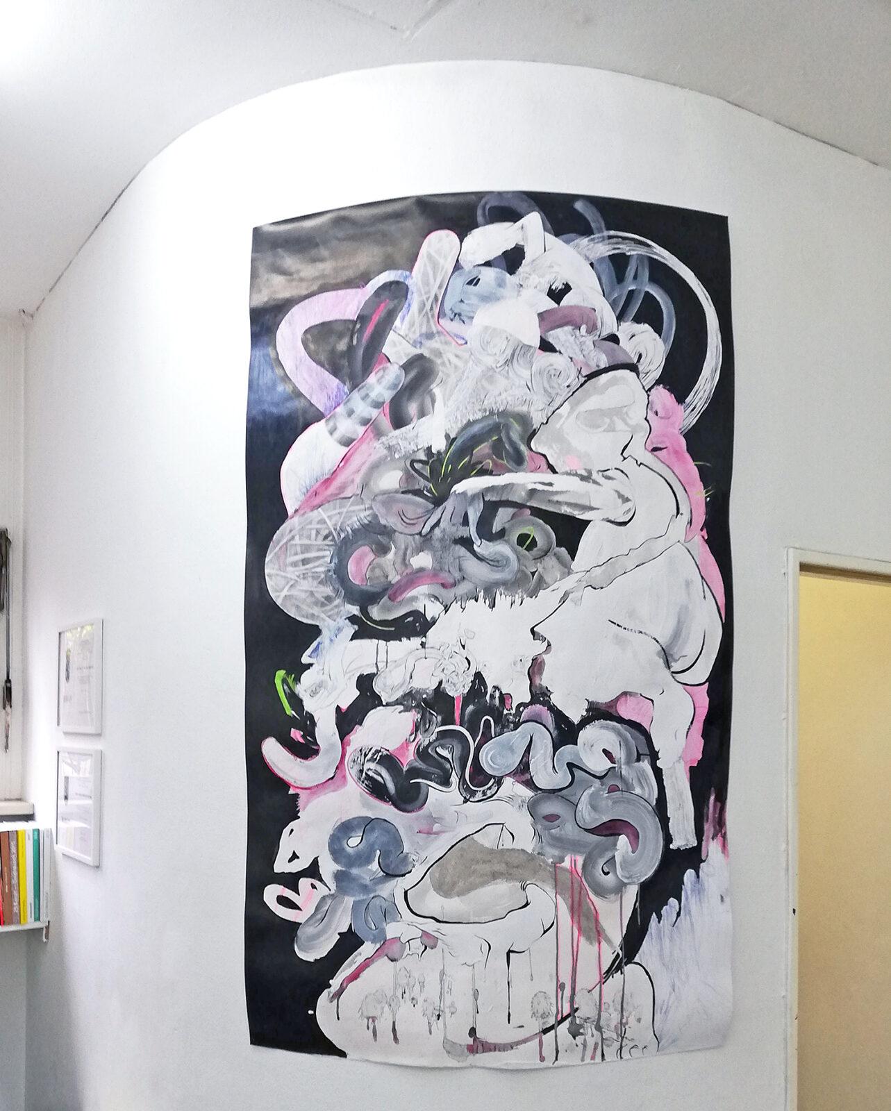Ausstellung in der Galerie oqbo