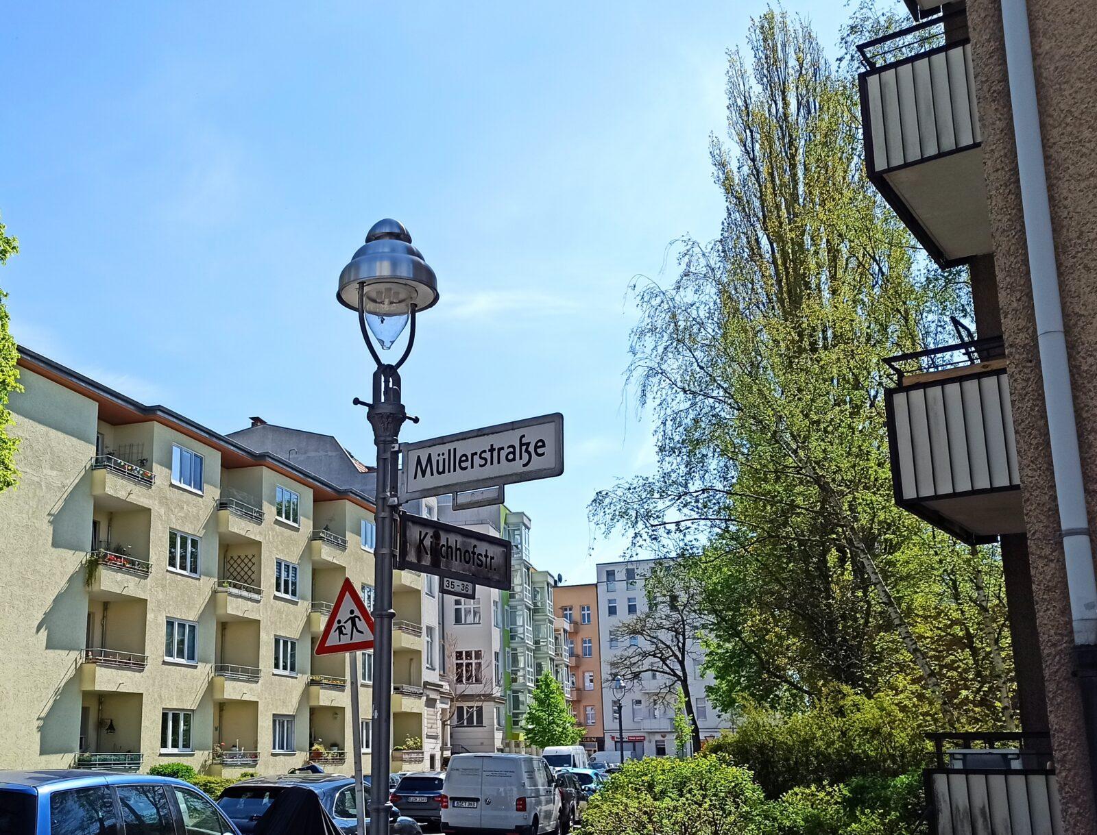 Müllerstraße in Berlin-Spandau