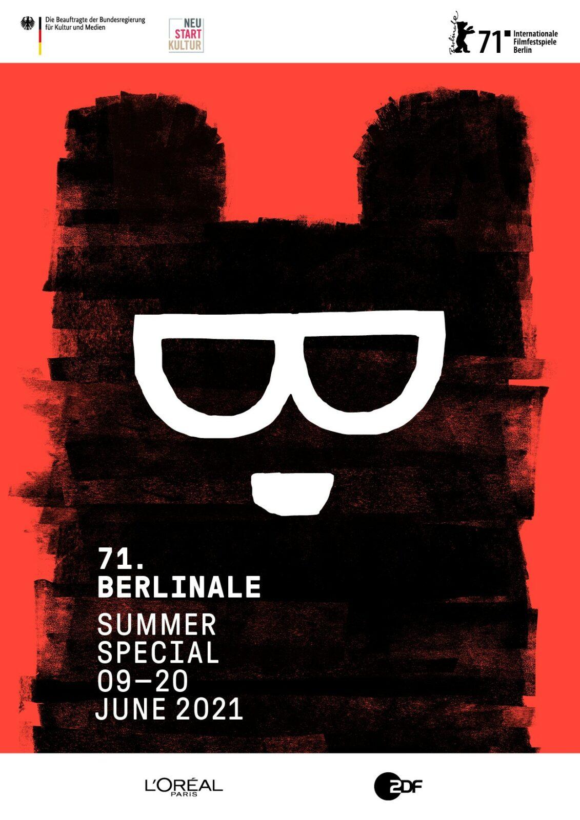 Offizelles Plakat des Berlinale Summer Specials 2021