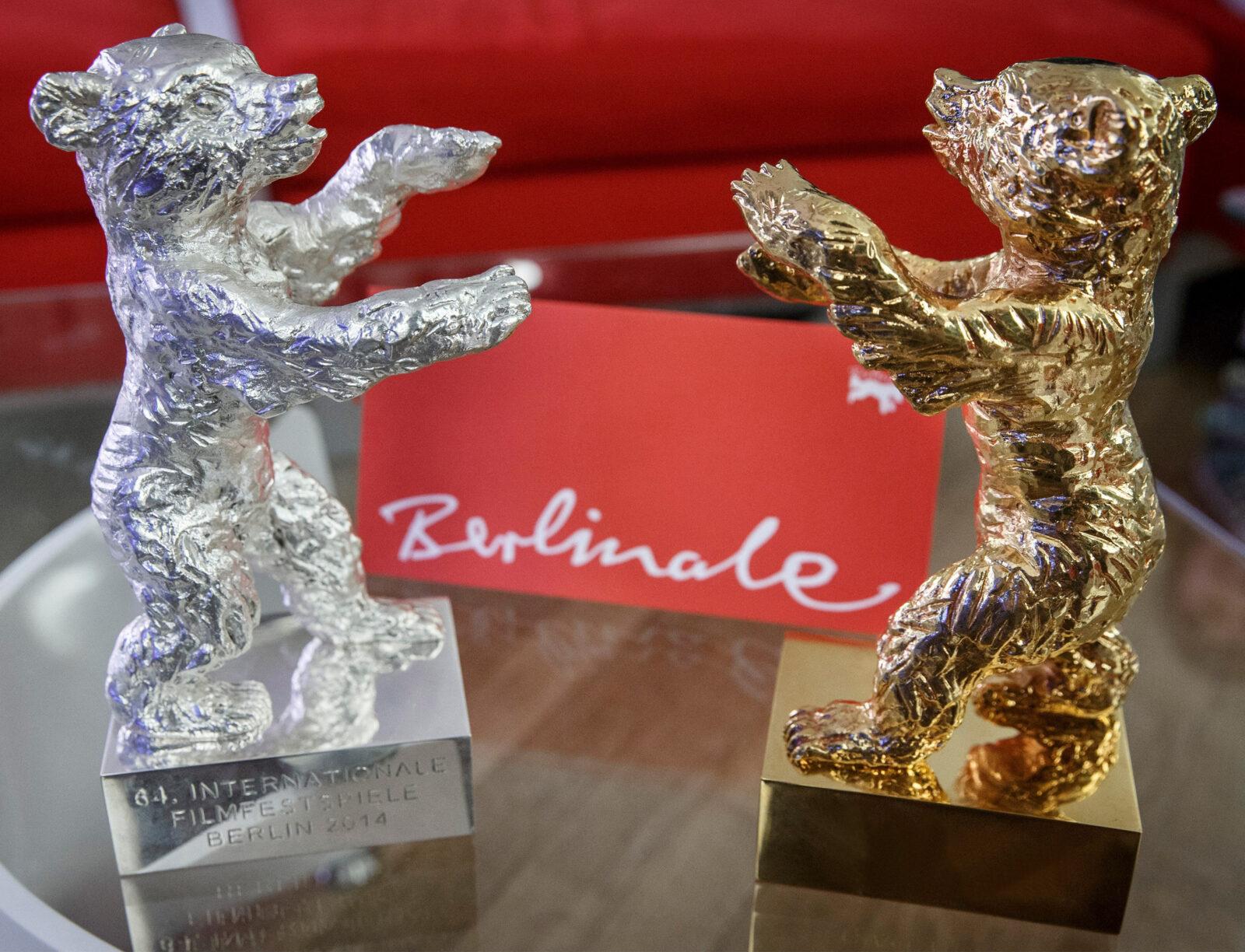Preise der Internationalen Filmfestspiele Berlin - Silberner Bär und Goldener Bär. Foto. Dirk Michael Deckbar 2014