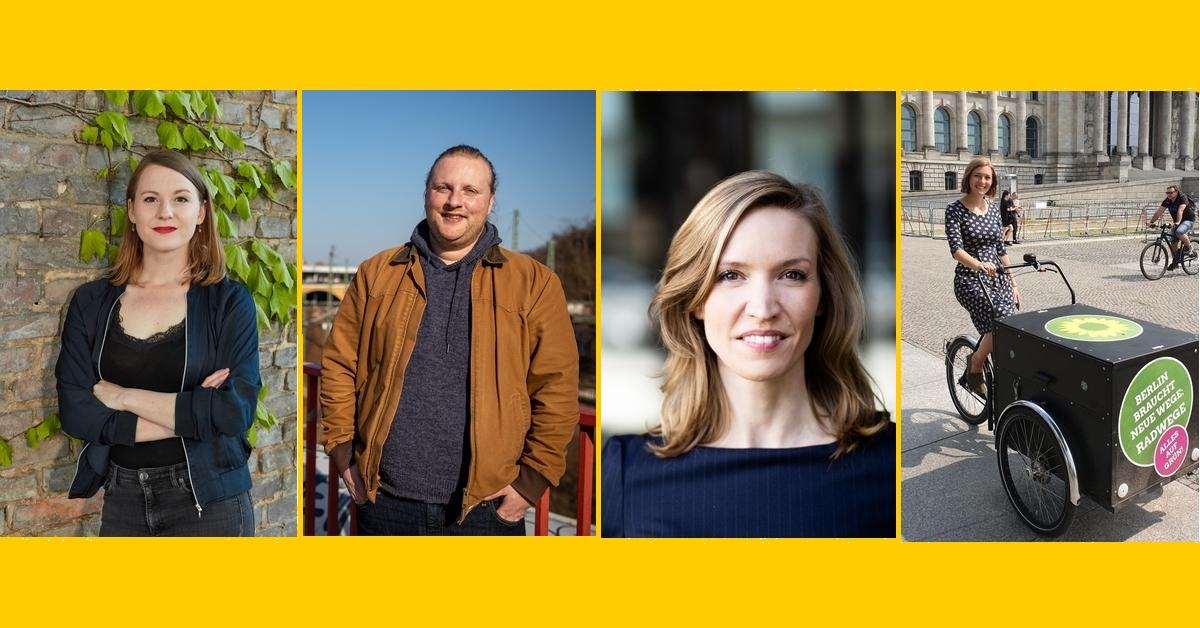 Vier Direktkandidaten Bundestagswahl